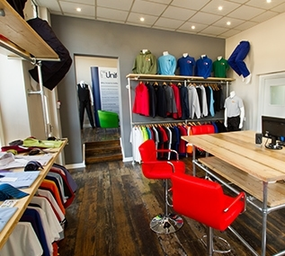 Select Uniforms Leeds Showroom